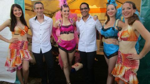 TRIO LIVE SHOW avec Chanteurs, Chanteuse, danseuses