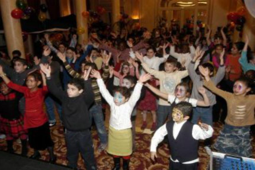 danse et boum pour les enfants
