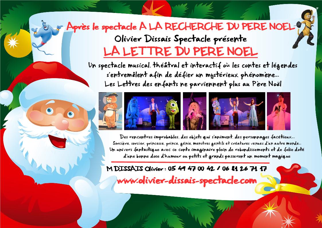 Lettre Electronique Au Pere Noel.Spectacle Enfants Unique Et Original Par Olivier Dissais